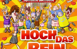Party Mix und Faslam Version - Hoch das Bein - DJ Buchholz