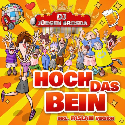 Party Mix und Faslam Version - Hoch das Bein - DJ Buchholz